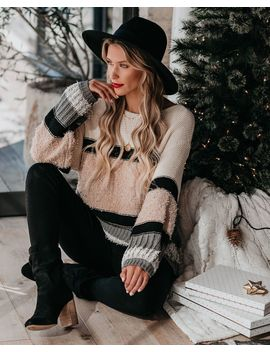 Way Up North Cotton Blend Sweater by Vici
