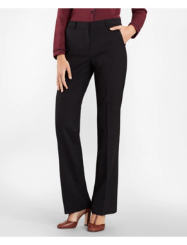 Checked Brooks Cool® Merino Wool Pants by Brooks Brothers