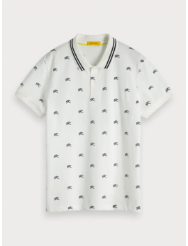 Printed Polo by Scotch&Soda