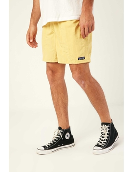 """M's Baggies Shorts 5"""" Surfboard Yellow by Patagonia"""
