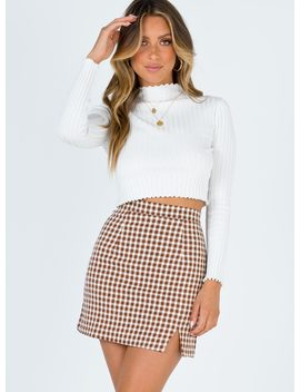 Malone Mini Skirt by Princess Polly