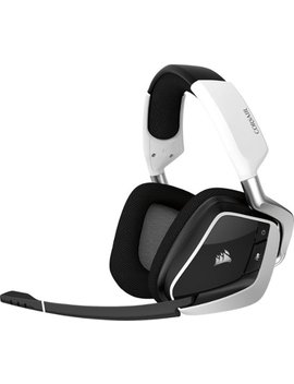 Void Pro Rgb Wireless Dolby 7.1 Channel Surround Sound Gaming Headset For Pc   White by Corsair