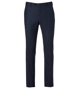Textured Wool Pants In Check by Holt Renfrew