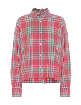 Ilaria Checked Cotton Shirt by Isabel Marant, Étoile