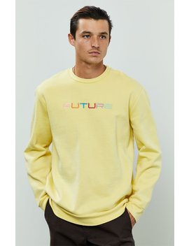 Pac Sun Future Pigment Crew Neck Sweater by Pacsun