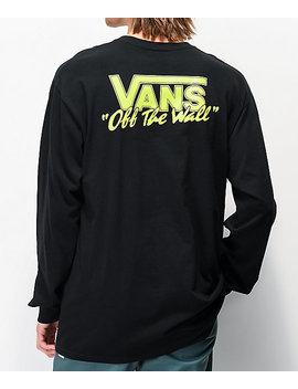 Vans Bmx Off The Wall Black Long Sleeve T Shirt by Vans