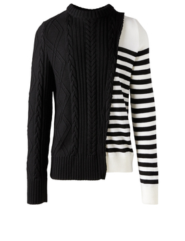 Wool Deconstructed Sweater by Holt Renfrew