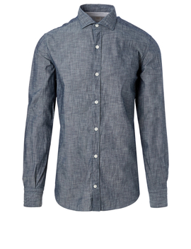 Cotton Chambray Shirt by Holt Renfrew