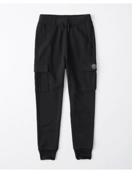 Logo Cargo Joggers by Abercrombie & Fitch