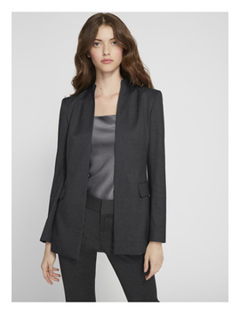 Kappa Mock Neck Fitted Blazer by Alice And Olivia