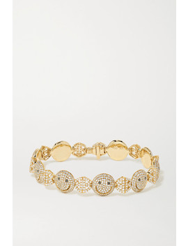 18 Karat Gold Diamond Bracelet by Lorraine Schwartz