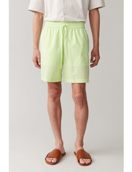 Boxy Cotton Shorts by Cos