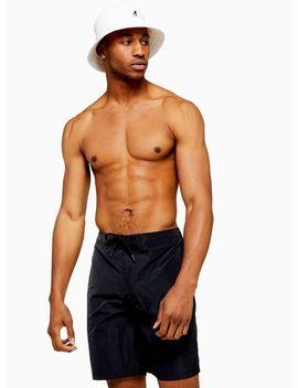 Black Board Swim Shorts by Topman