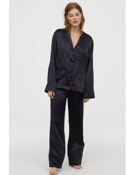 Silk Pyjama Bottoms by H&M