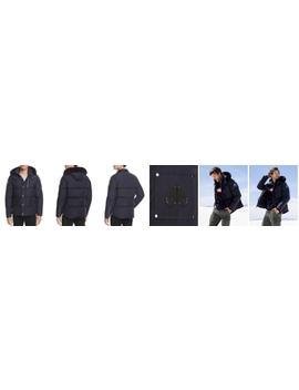 3 Q Fur Trim Hooded Down Jacket by Moose Knuckles