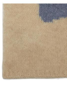 Coco Ying Yang Intarsia Knit Scarf by Paloma Wool