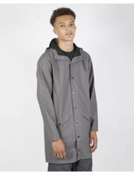 Long Jacket Charcoal by Rains