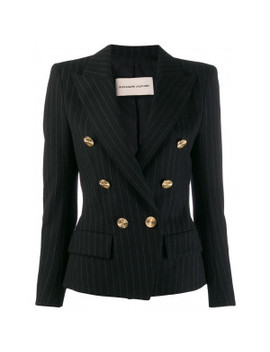 Double Breasted Pinstripe Jacket by Alexandre Vauthier