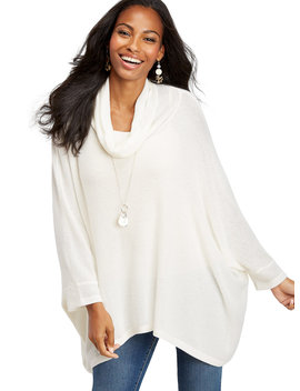 Kimono Cowl Neck Poncho by Maurices