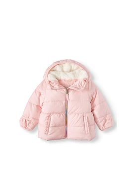 Wonder Nation Baby Toddler Girl Bubble Jacket by Wonder Nation