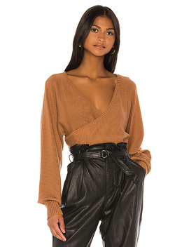 Nina Sweater In Brown by Camila Coelho