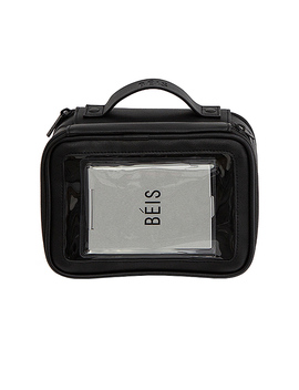 On The Go Essentials Case In Black by Beis