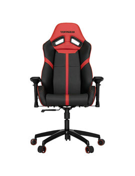 Vertagear S Line Sl5000 Ergonomic Faux Leather Gaming Chair   Black/Red by Best Buy