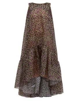 Dream Factory Semi Sheer Floral Organza Dress by Romance Was Born