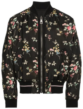 Haider Ackermann Aw18 Floral Insulated Bomber by Haider Ackermann  ×