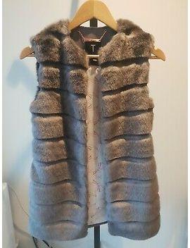 Ted Baler Faux Fur Gilet Size 0 by Ebay Seller