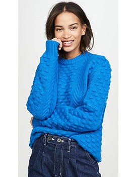 Chunky Merino Cable Knit Sweater by Tory Sport