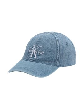 J Monogram Denim Cap by Calvin Klein Jeans