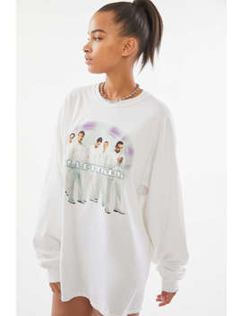 Backstreet Boys Long Sleeve T Shirt Dress by Urban Outfitters