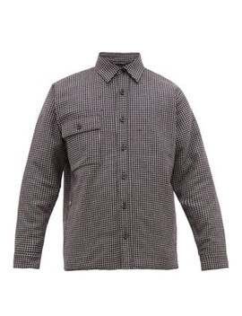 Woodhacker Checked Wool Shirt by Bless