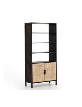 Dolores Cane Bookcase by Pottery Barn