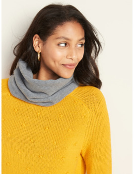 Performance Fleece Tube Scarf For Women by Old Navy