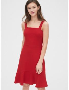 Apron Flounce Dress by Gap