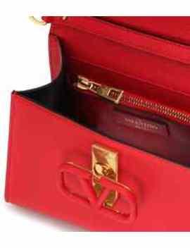 Valentino Garavani Vsling Leather Shoulder Bag by Valentino