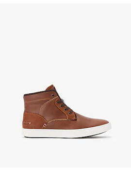 High Top Lace Up Sneakers by Express