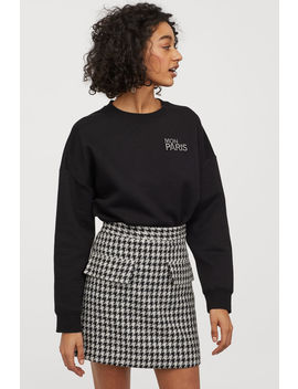 Bouclé Skirt by H&M