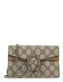 Dionysus Gg Supreme Super Mini Shoulder Bag by Gucci
