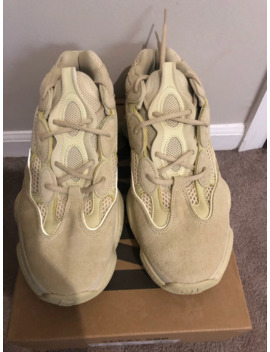 Yeezy 500 Super Moon Yellow 2017 by Adidas  ×  Kanye West  ×