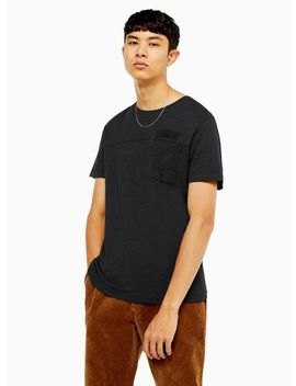 Selected Homme Black Utility T Shirt by Topman
