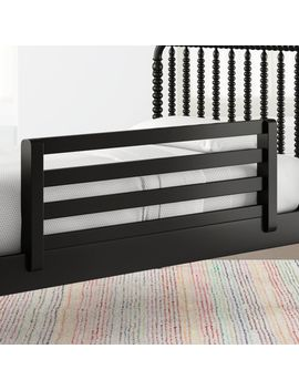 Jenny Lind Black Bed Rail by Crate&Barrel