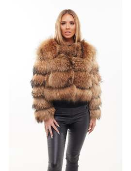 Raccoon Fur Coat   Natural by Etsy