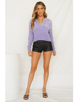 Electric Fields Jumper // Lilac by Vergegirl