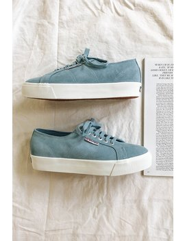 Superga Suede Sneakers // Sky by Vergegirl