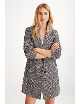 The Yaletown Textured Coat by Dynamite