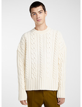 Twisted Loose Sweater by Ami Alexandre Mattiussi