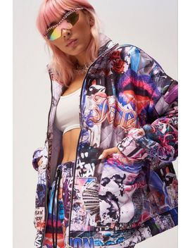 **Quilted Jacket By Jaded London by Topshop